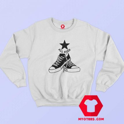 Converse All Star Team Sports Retro Vintage Sweatshirt