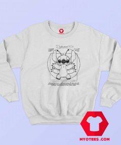 Disney Lilo and Stitch Vitruvian Unisex Sweatshirt
