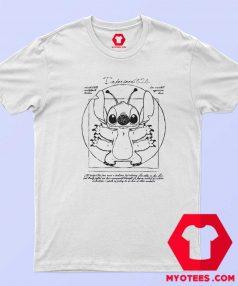 Disney Lilo and Stitch Vitruvian Unisex T Shirt