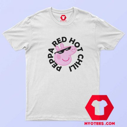 Funny Peppa Pig x Red Hot Chili Peppers T Shirt