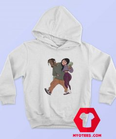 Funny Travis Scott And Kylie Jenner Unisex Hoodie