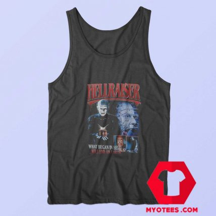 Hellraiser Supernatural Horror Film Unisex Tank Top