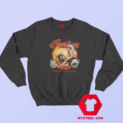 Indian America First Motorcycle Unisex Sweatshirt