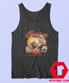 Indian America First Motorcycle Unisex Tank Top