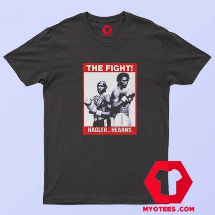 M Hagler Vs Tommy Hearns Retro Boxing T Shirt