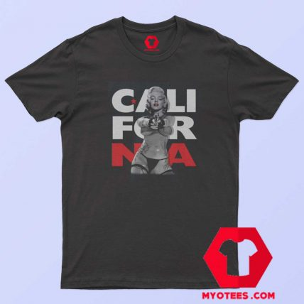 Marilyn Monroe California Gun Unisex T Shirt
