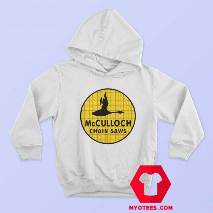 McCulloch Chain Saws Vintage Ringer Hoodie
