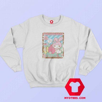 My Melody Strawberry Picking Farm Sweatshirt