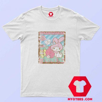 My Melody Strawberry Picking Farm Unisex T Shirt
