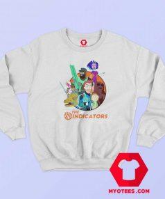 Rick and Morty The Vindicators Group Shot Sweatshirt