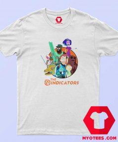 Rick and Morty The Vindicators Group Shot T Shirt