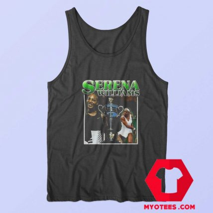 Serena Williams Vintage Graphic Unisex Tank Top
