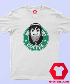 Starbucks Funny Parody Rock Lee Naruto T Shirt
