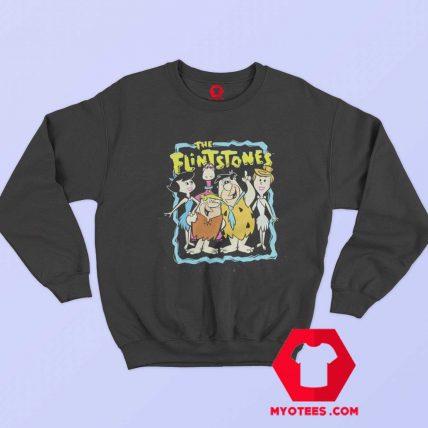 The Flintstones Vintage Cartoon Unisex Sweatshirt