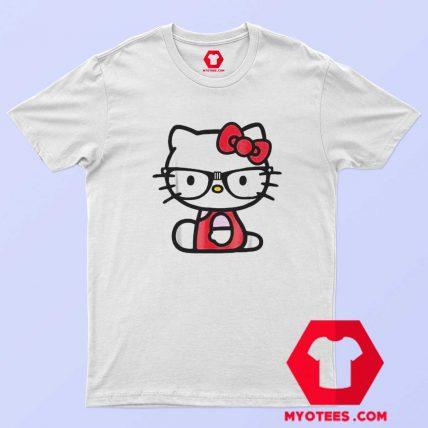 Vintage Hello Kitty Nerd Glasses Unisex T Shirt