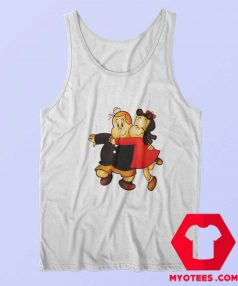 Vintage Little Lulu The Dog Show Off Tank Top