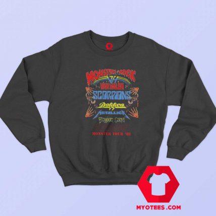 Vintage Rare 1988 Monsters of Rock Tour Sweatshirt