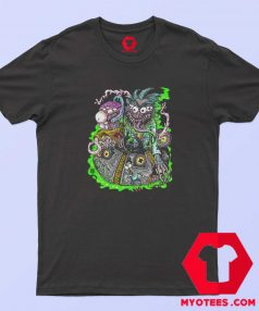 Vintage Rick Morty Space Travel Unisex T Shirt