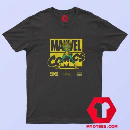 Marvel Comics Loki Black Classic Unisex T-Shirt