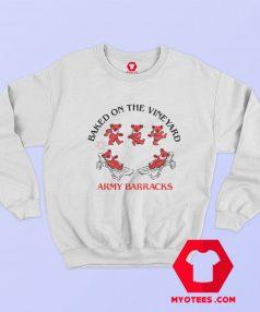 Baked On The Vineyard Army Barracks Sweatshirt