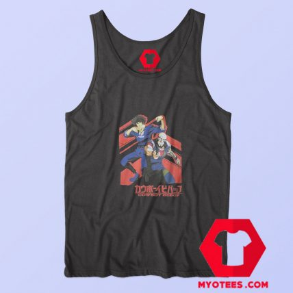 Cowboy Bebop Jet and Spike Space Anime Tank Top