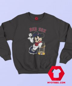 Cute Mickey Mouse Boston Red Sox Sweatshirt