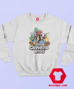 Funny Duo Super Cuphead Bros Unisex Sweatshirt