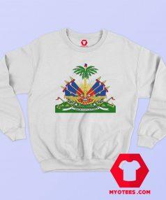 Haitian Coat Of Arms Haiti Emblem Symbol Sweatshirt