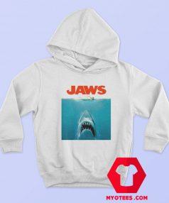 Jaws Shark Original Movie Vintage Poster Hoodie