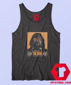 Mike Mitchell The Dude Unisex Tank Top
