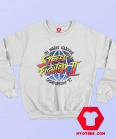 Street Fighter World Warrior Championship Sweatshirt