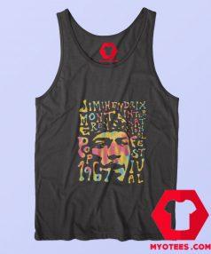 Vintage Jimi Hendrix Monterey Pop Unisex Tank Top