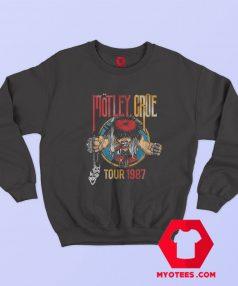 Vintage Motley Crue 1987 Tour Unisex Sweatshirt
