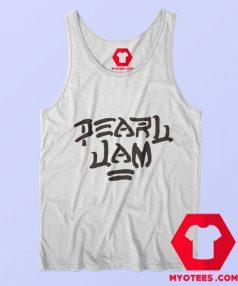 White Pearl Jam Graphic Unisex Tank Top