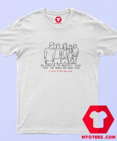 10 Years Of One Direction Unisex T Shirt