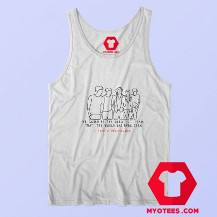 10 Years Of One Direction Unisex Tank Top