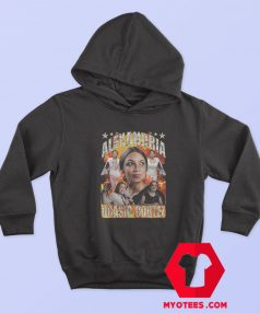Alexandria Ocasio Cortez Vintage Retro Hoodie
