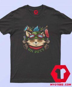 Teemo On Duty Funny Vintage Retro T Shirt