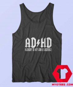 ADHD Highway to hey Look a Squirrel Unisex Tank Top