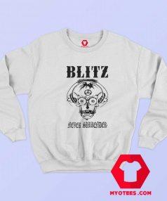 Blitz Never Surrender Retro Vintage Unisex Sweatshirt