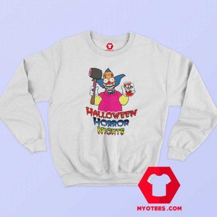 Halloween Horror Nights Krusty Vintage Sweatshirt
