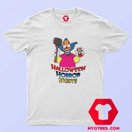 Halloween Horror Nights Krusty Vintage T shirt