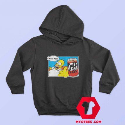 Homer Simpson Duff Beer Funny Unisex Hoodie