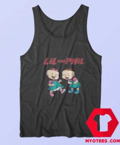 Rugrats Lil And Phil Laughing Poster Unisex Tank Top