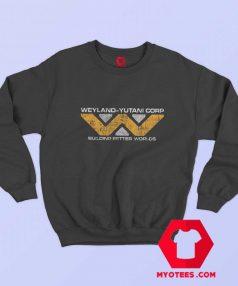 Weyland yutani Corp Building Worlds Movie Sweatshirt