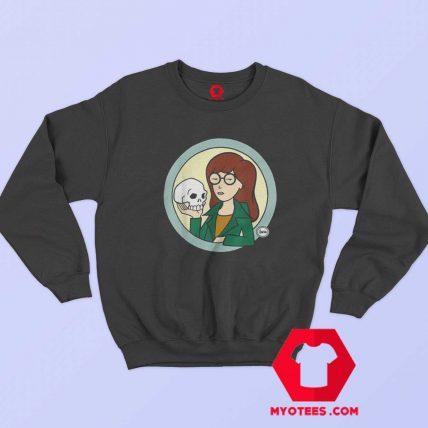 Daria Skull Holder Graphic Funny Unisex Sweatshirt
