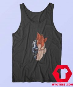 Dragon Ball x Terminator Parody Unisex Tank Top