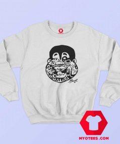 Fan Albert Halloween Doodle Unisex Sweatshirt