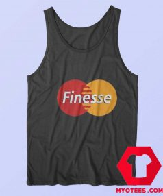 Funny Finesse Mastercard Parody Unisex Tank Top