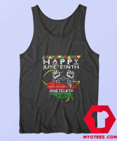 Happy Juneteenth Independence Day Unisex Tank Top